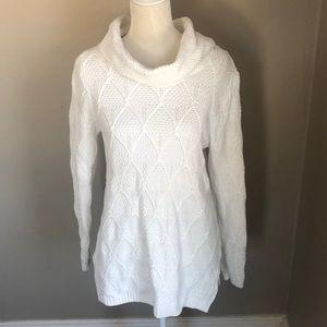 Jeanne Pierre Knit Cowl Neck Sweater